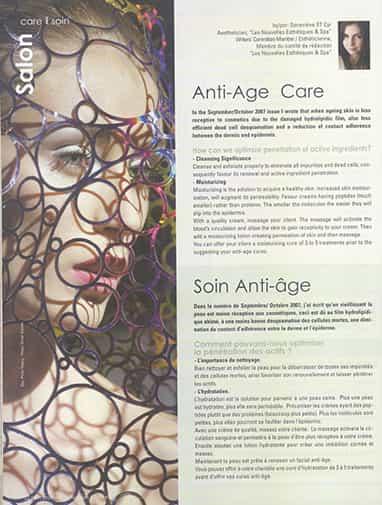 soin anti-âge